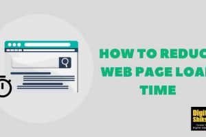 How To Reduce Web Page Load Time