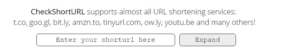 URL shortening services